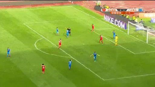 Yanbian Guangzhou R&F goals and highlights